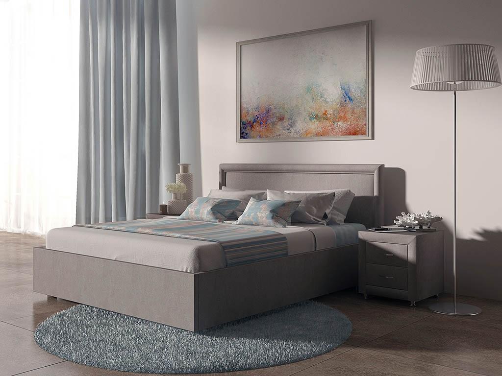 Кровать Бергамо с ПМ